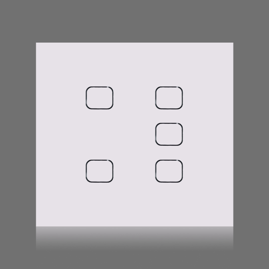 5 touch quadrado